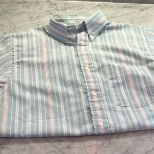 Retro Striped Button Down Made in the USA